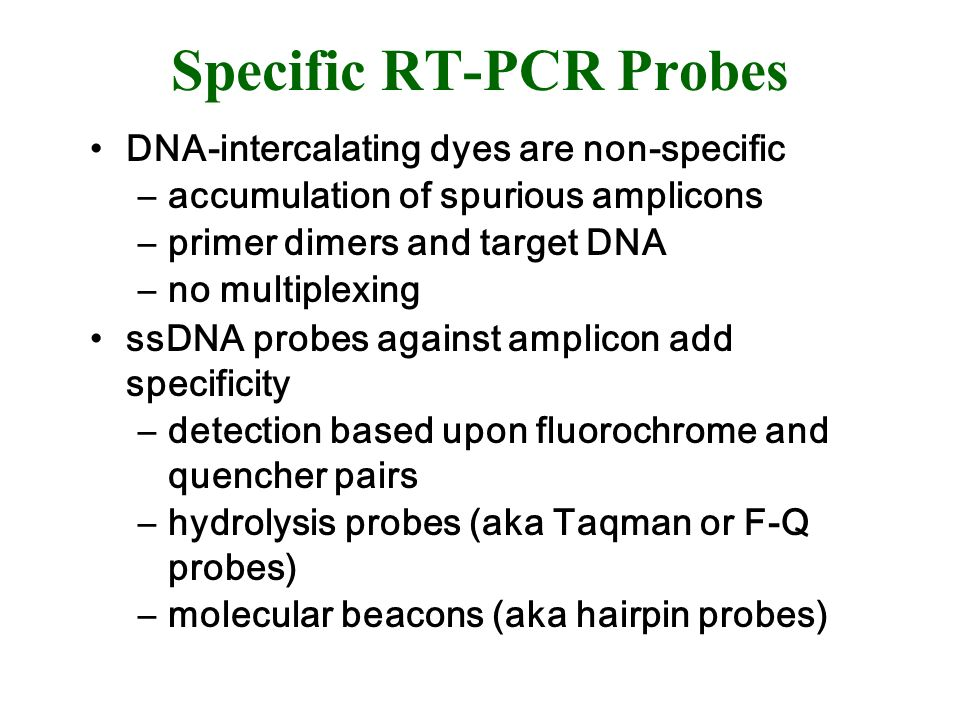 Specific RT-PCR Probes