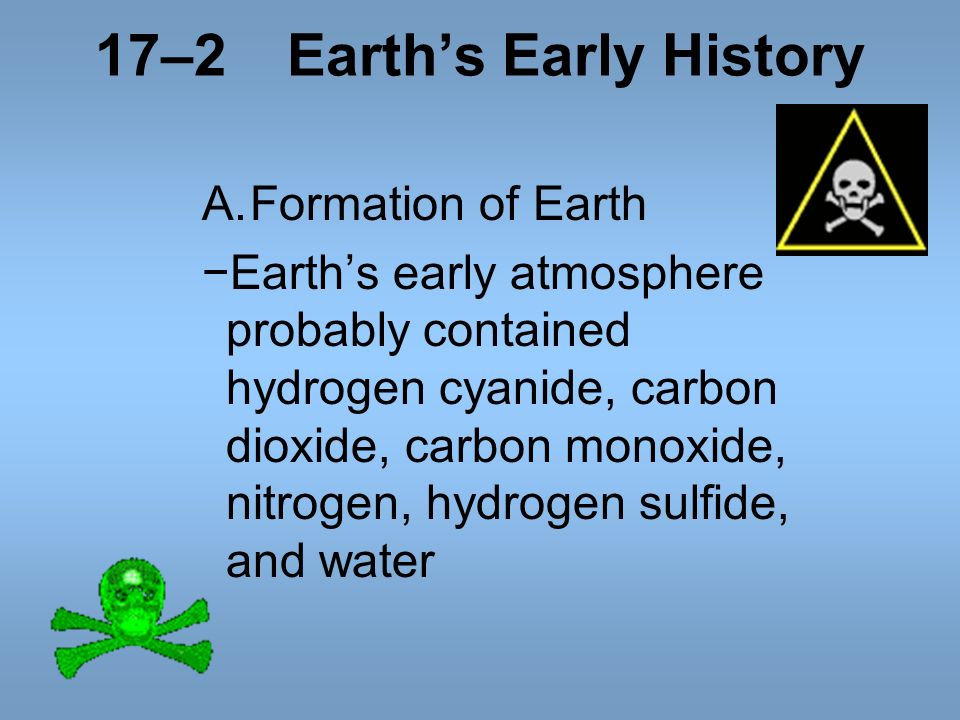 17–2 Earth's Early History
