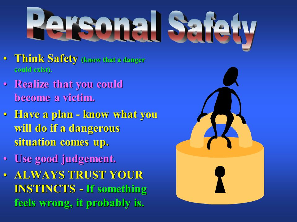 Home visit personal safety plan