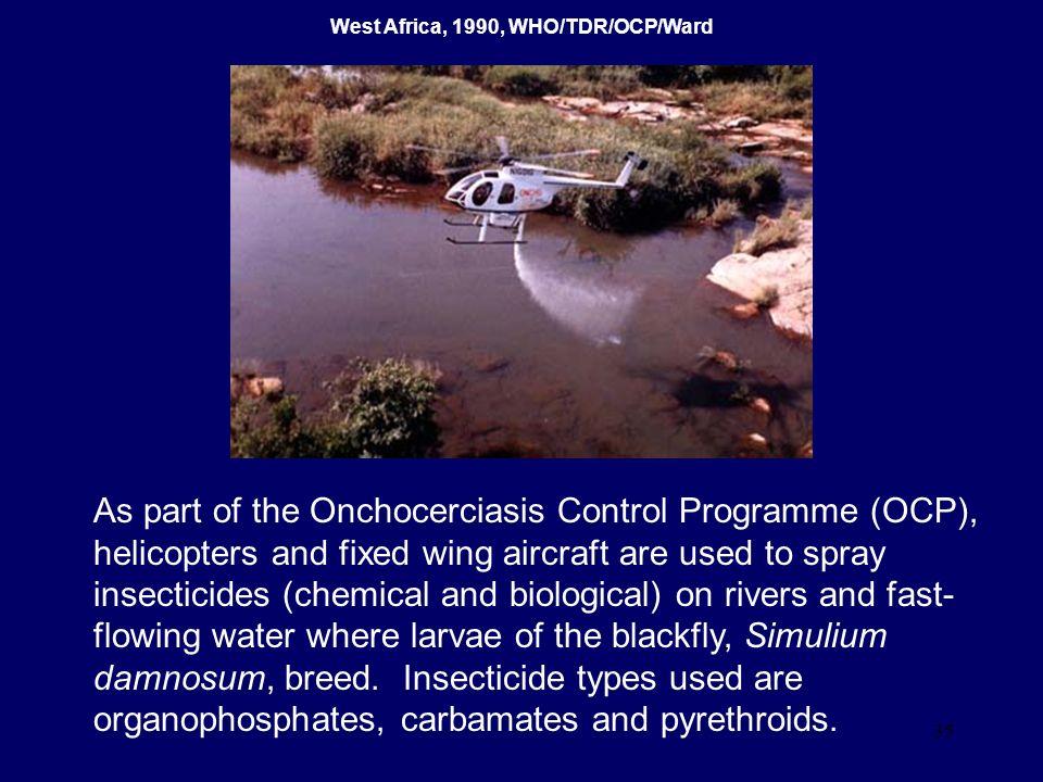 West Africa, 1990, WHO/TDR/OCP/Ward