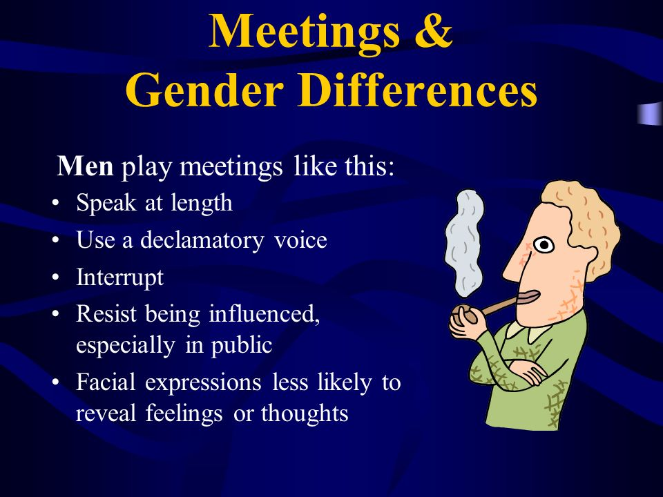 Meetings & Gender Differences