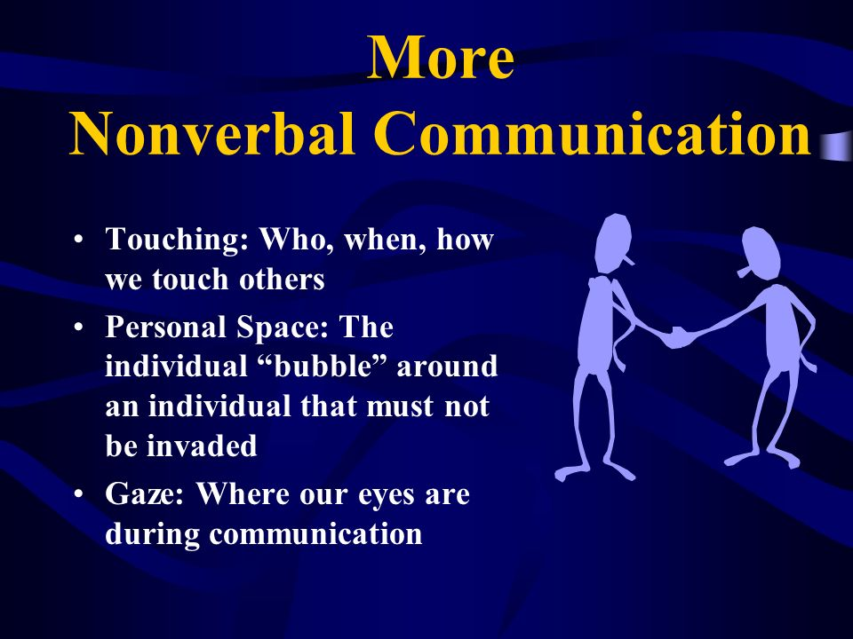 More Nonverbal Communication