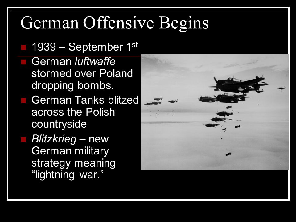 World War II on the horizon ppt download