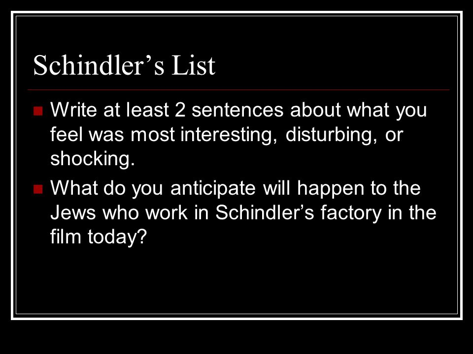 oskar schindler and the schindler jews essay Myth, reality and oskar schindler  keneally puts some emphasis on the information that young oskar had two jewish friends, sons of rabbi felix kanter.
