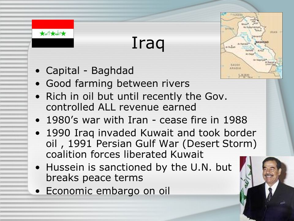Iraq Capital - Baghdad Good farming between rivers