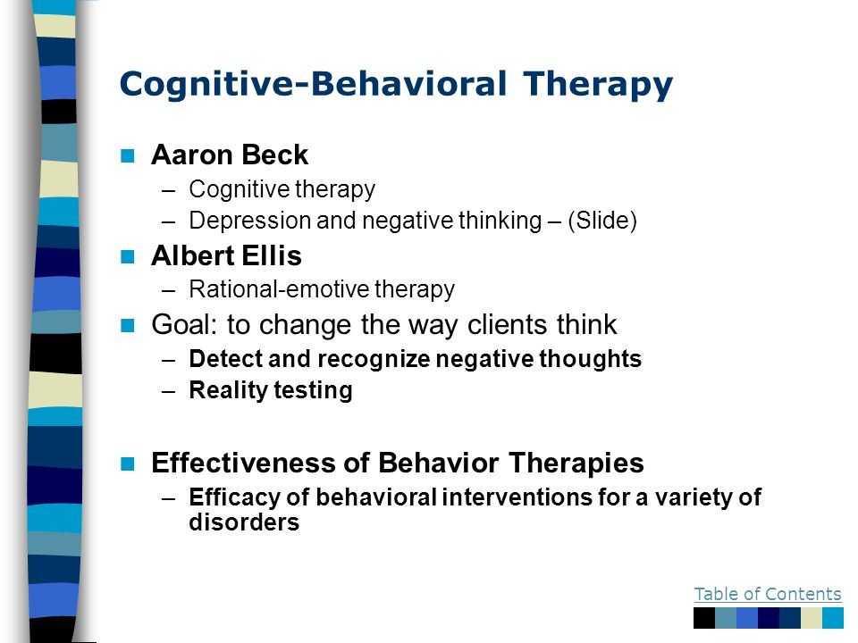 cognative behavioral therapy and homework assignments Cognitive-behavioral therapy for bipolar disorder, second edition homework assignments are a core and effective component of cognitive behavior therapy, allowing patients to maintain and enhance the progress made during sessions.