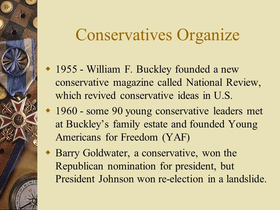 Conservatives Organize