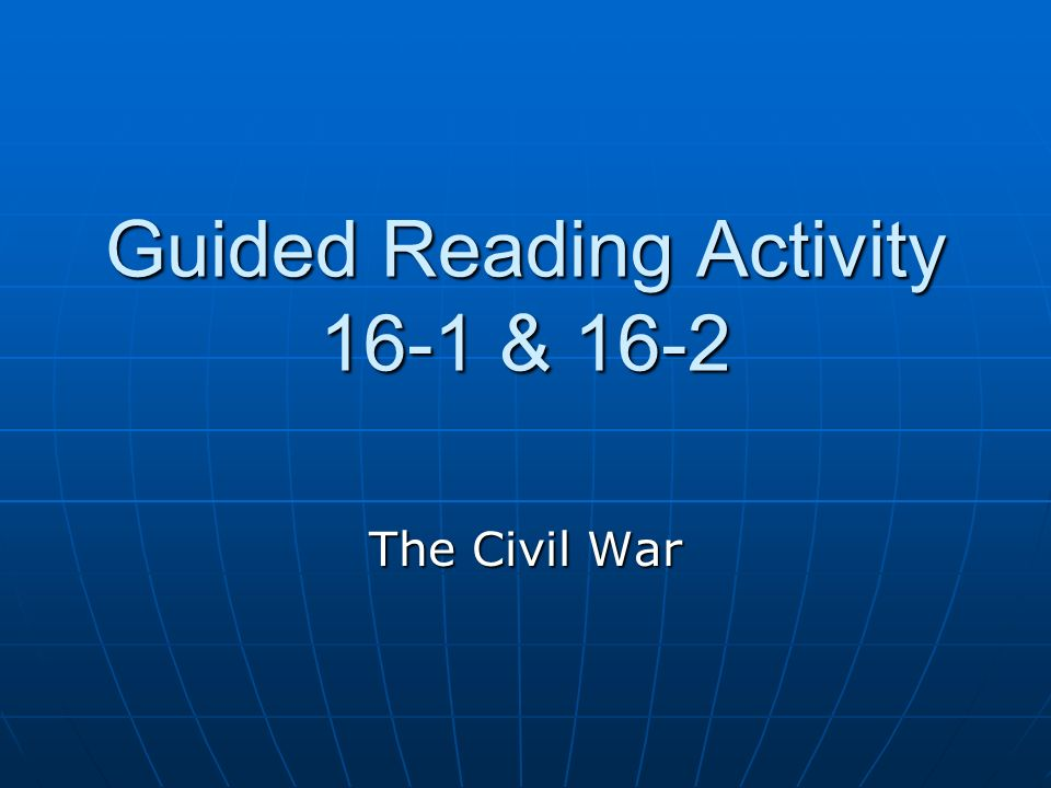 reading the civil war assignment fall Hist 171c reading assignment 3 the reality of war: trench warfare 1  necessity of the civil war  english 101 - fall 2013 hist wwi writing assignment s214 76 .