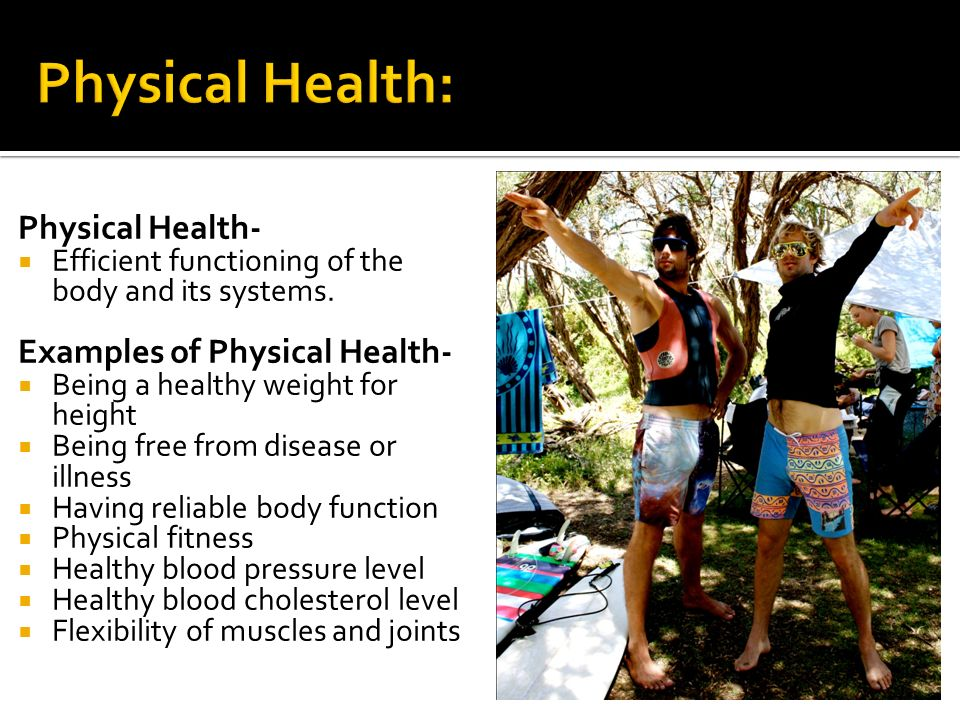 Physical Health Examples 91406 Movieweb