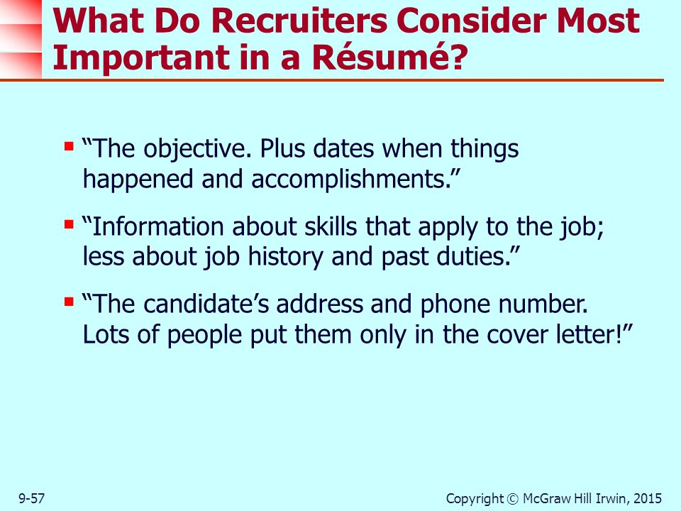 Strategies in the job search process ppt download for Do recruiters read cover letters