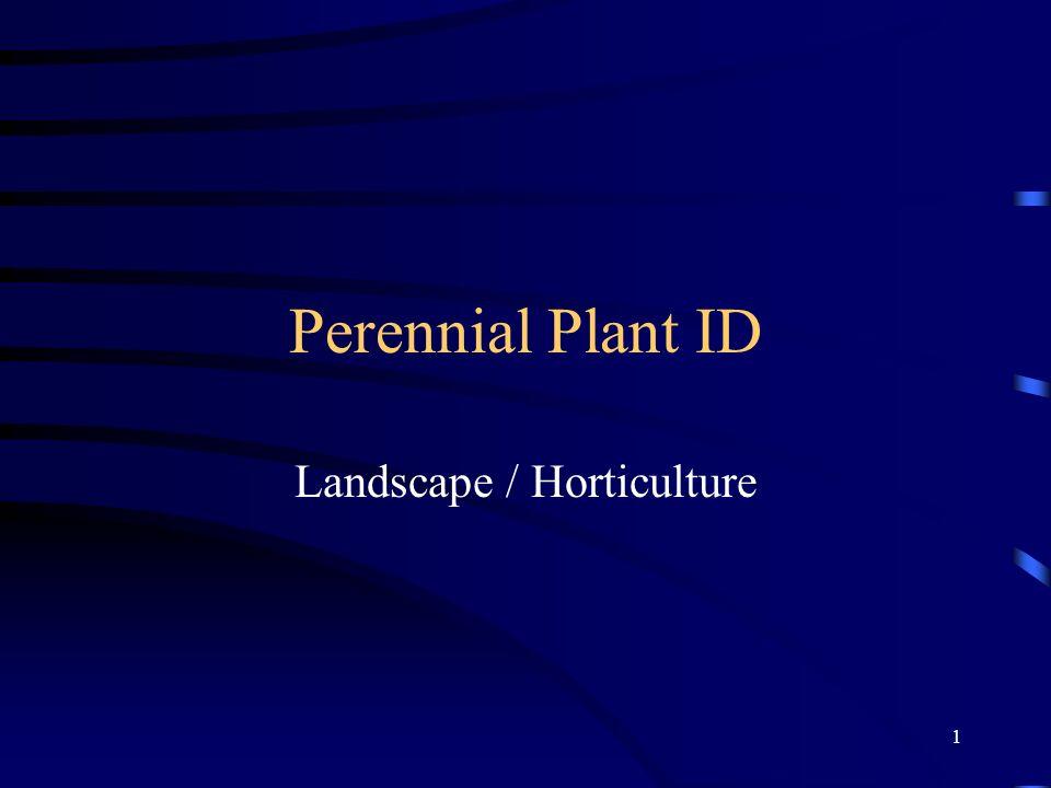 Landscape / Horticulture