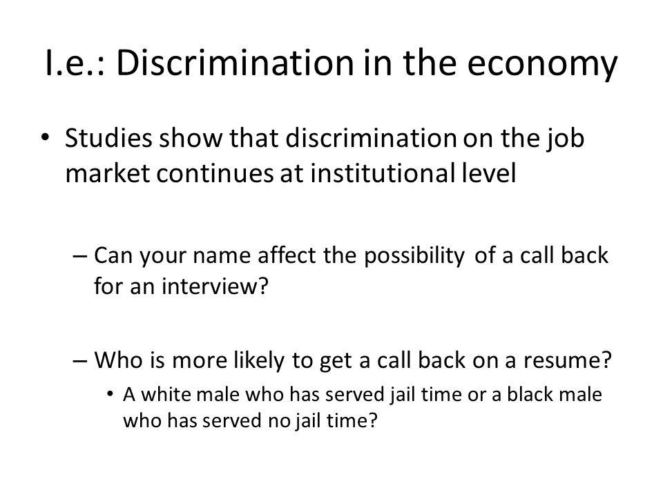 iii prejudice and discrimination ppt