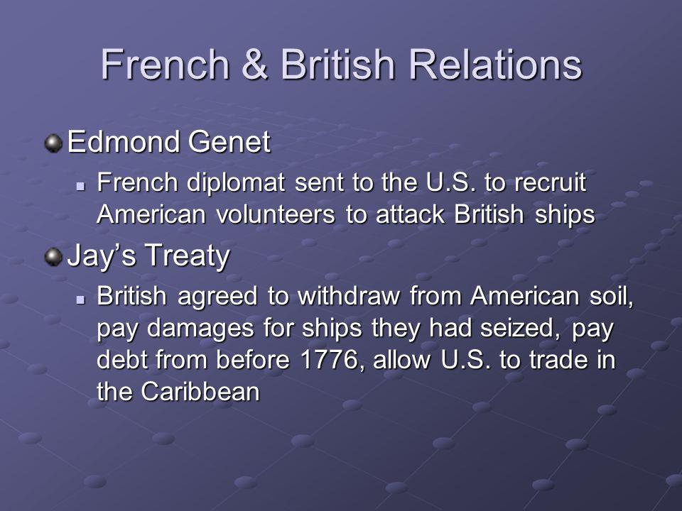 French & British Relations