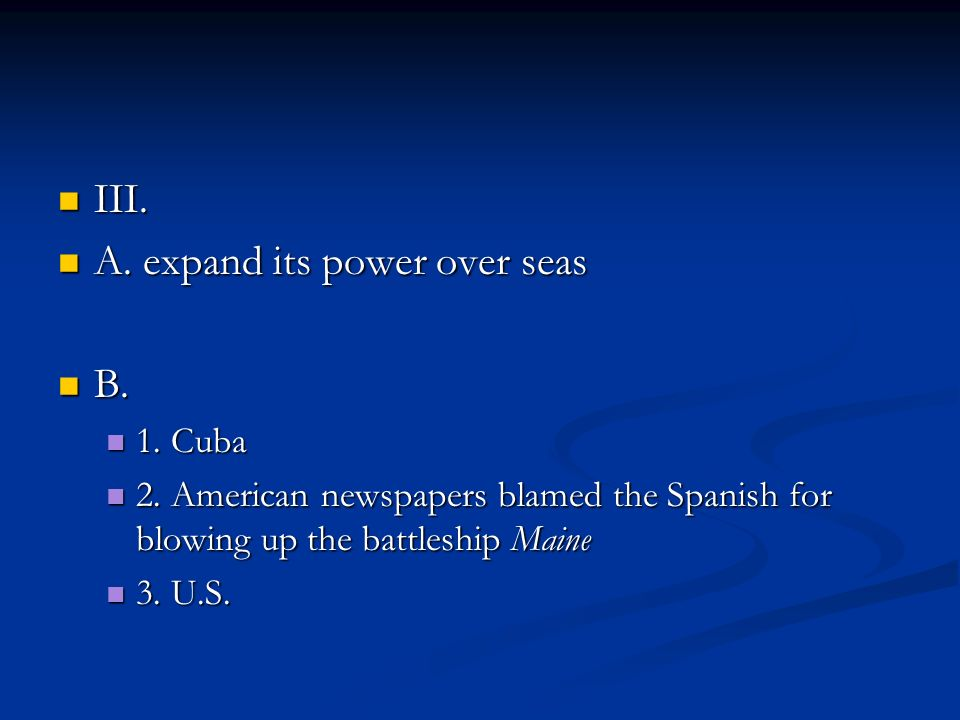A. expand its power over seas B.