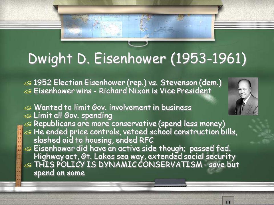 Dwight D. Eisenhower (1953-1961)