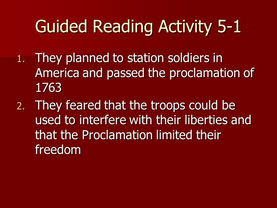 guided reading activity ppt video online download rh slideplayer com guided reading activity 5 1 shopping for food answers guided reading activity 5 1 what does the law of supply state