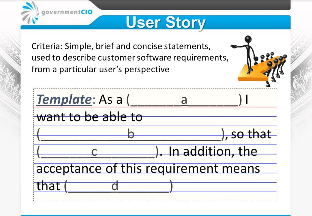 as a user i want user story template - mobile aps agile mentoring review ppt video online download