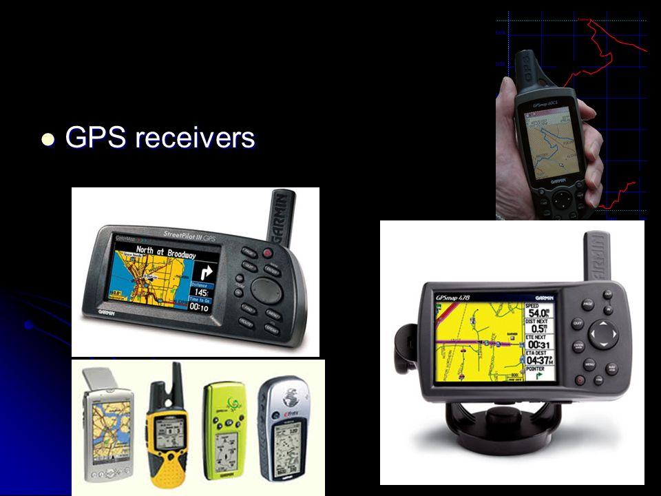 GPS receivers