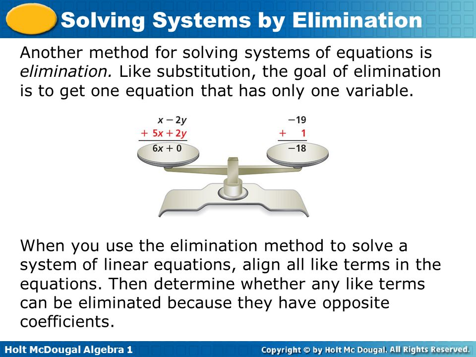How do you write a system of linear equations with two variables?