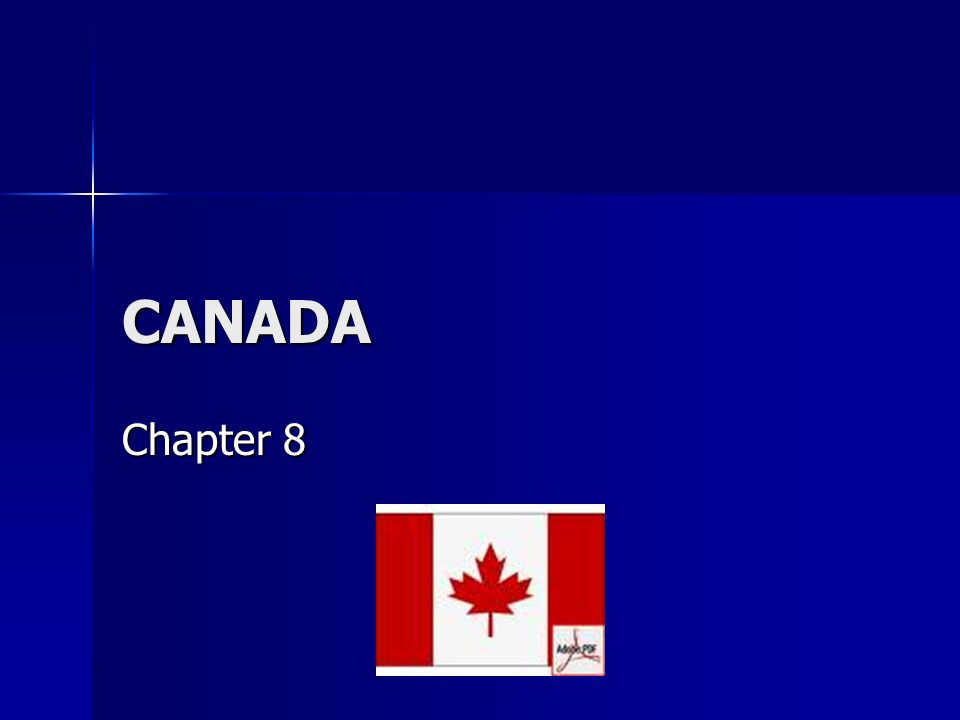 CANADA Chapter 8