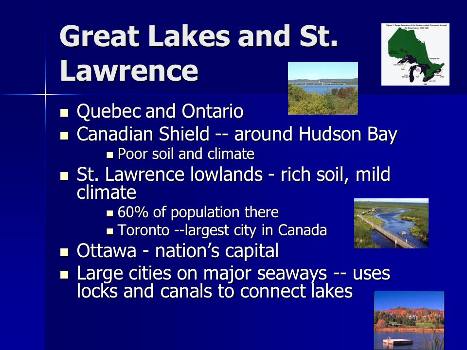 Great Lakes and St. Lawrence