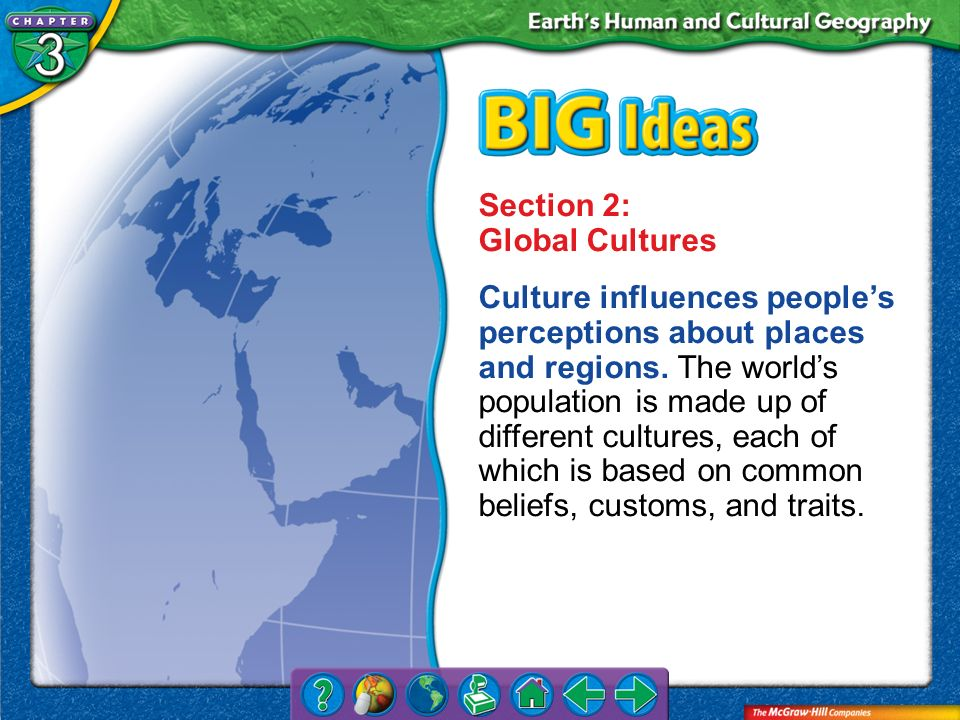 Section 2: Global Cultures
