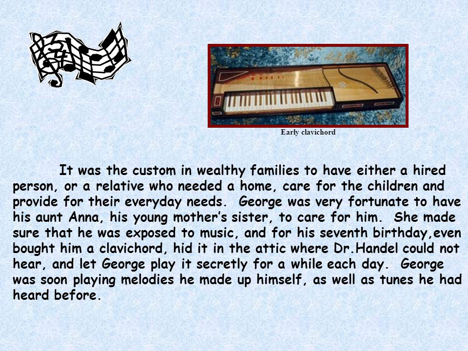 Early clavichord