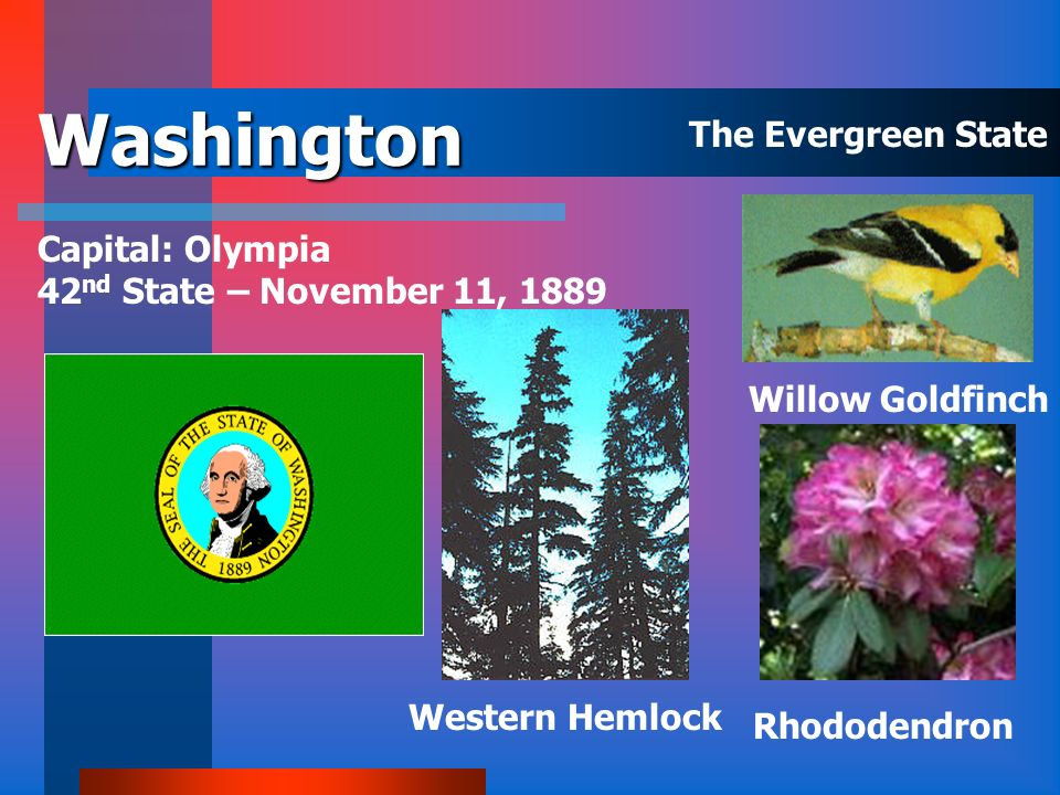 Washington The Evergreen State Capital: Olympia