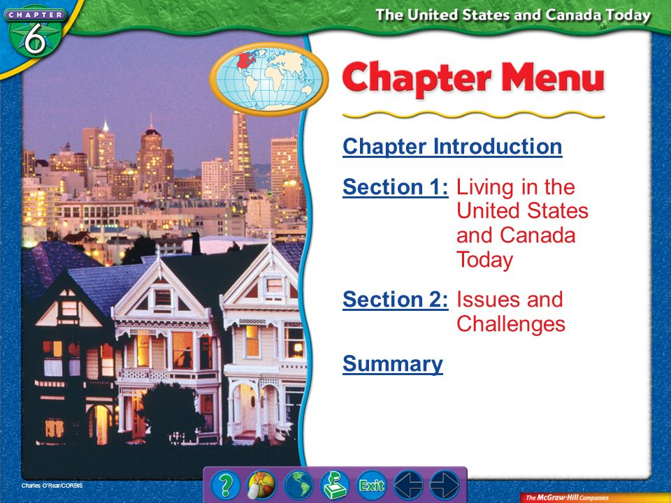 Section 1: Living in the United States and Canada Today