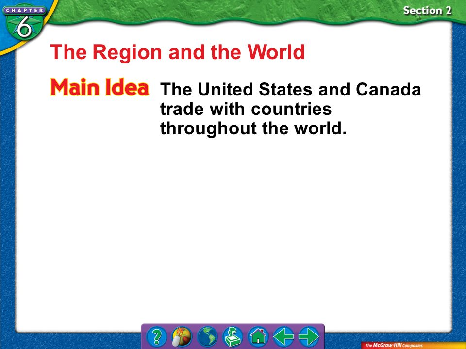 The Region and the World
