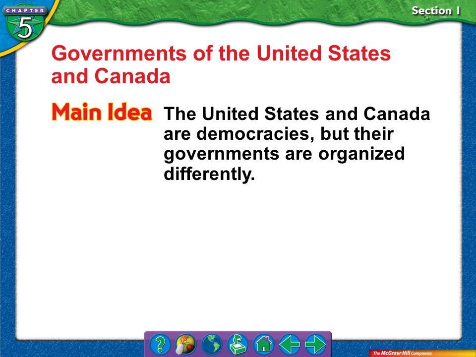 Governments of the United States and Canada