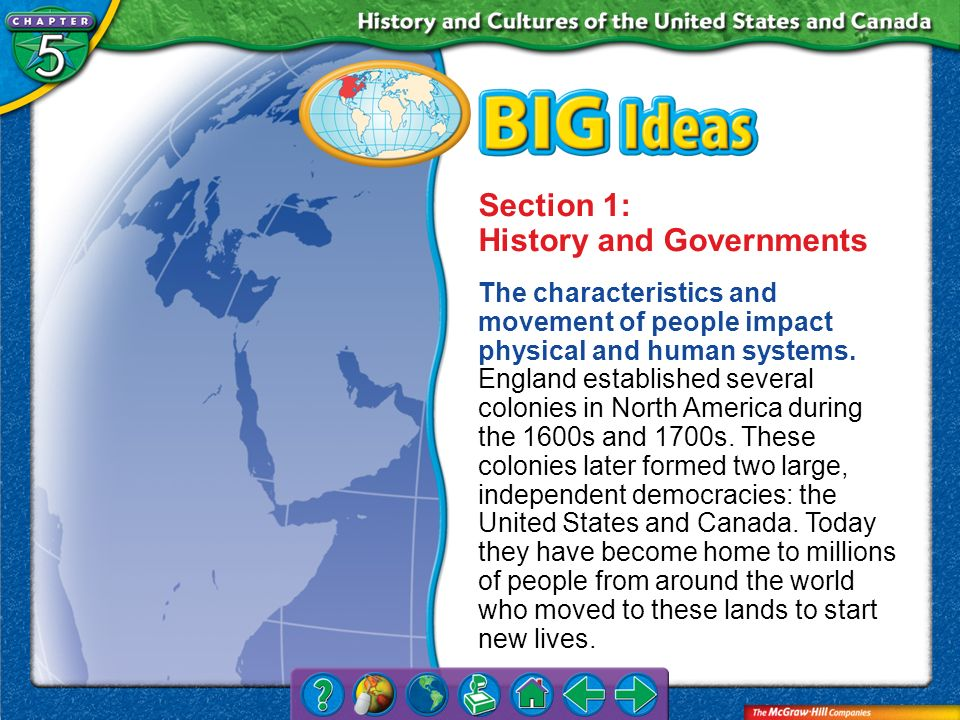 Section 1: History and Governments