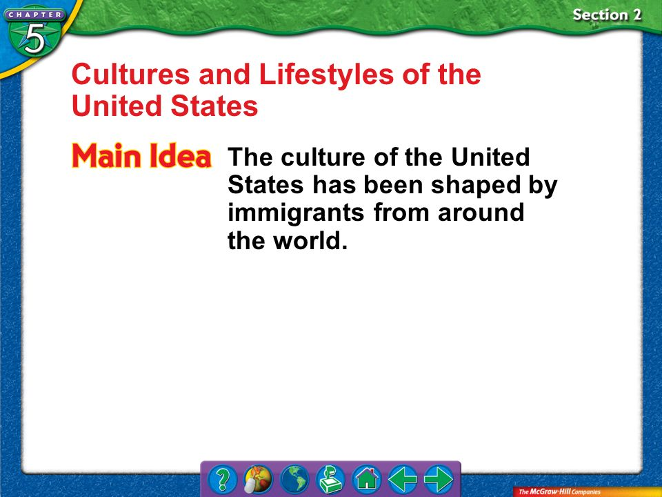 Cultures and Lifestyles of the United States