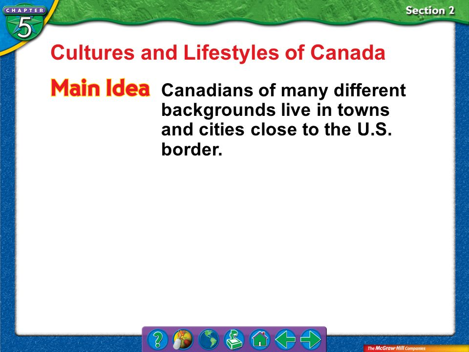 Cultures and Lifestyles of Canada