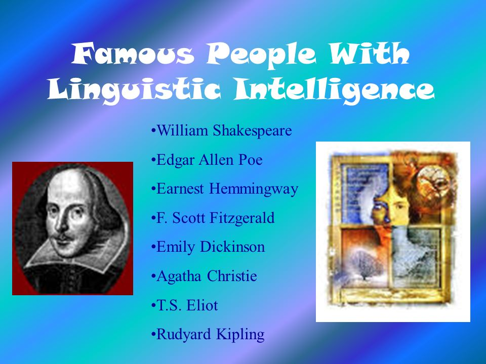 Famous People With Linguistic Intelligence