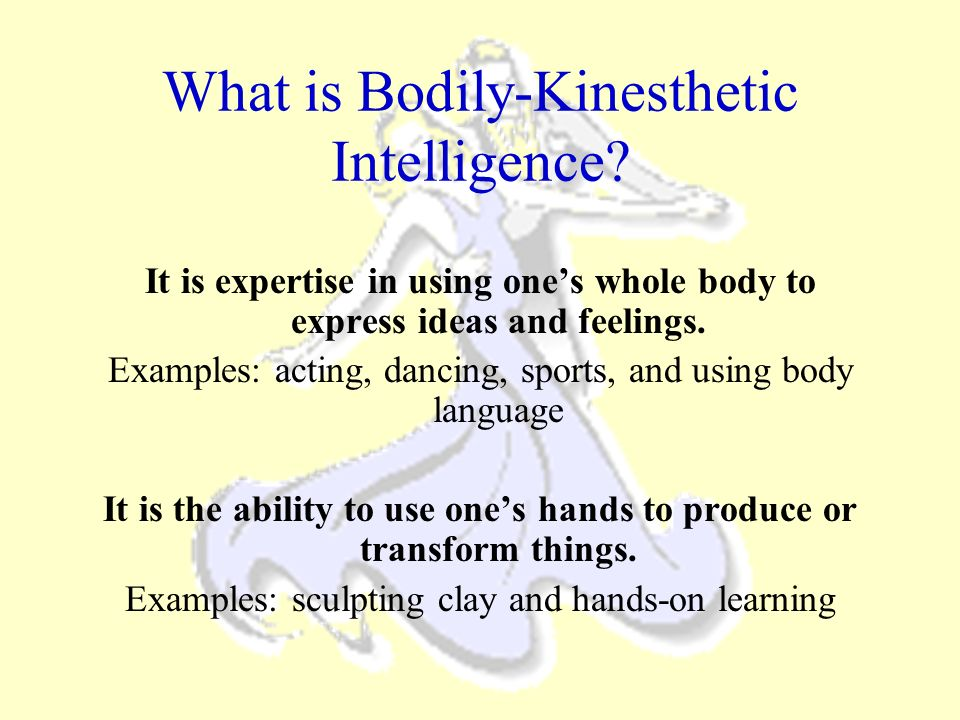 What is Bodily-Kinesthetic Intelligence
