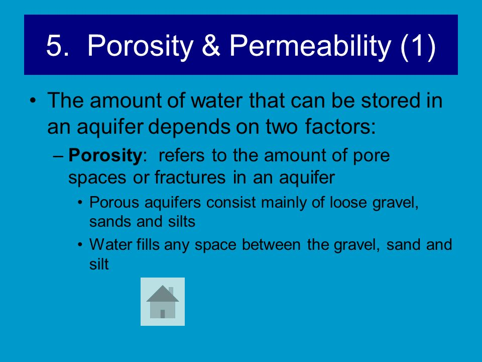 5. Porosity & Permeability (1)