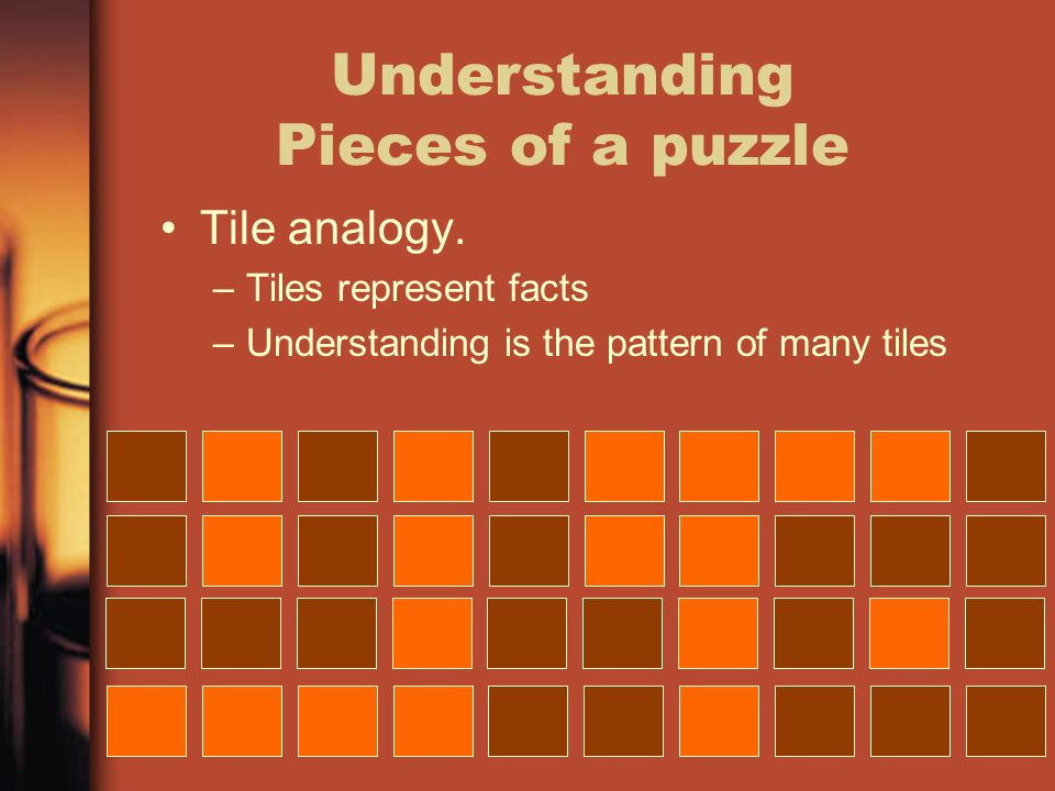 Understanding Pieces of a puzzle