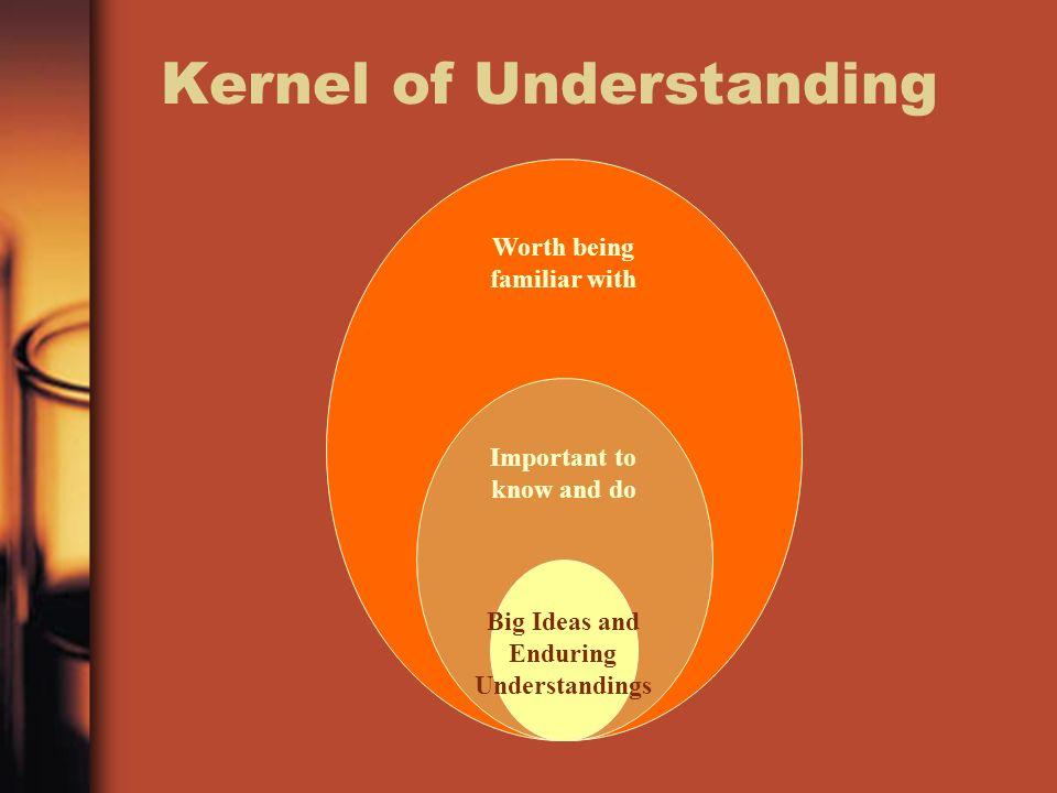 Kernel of Understanding