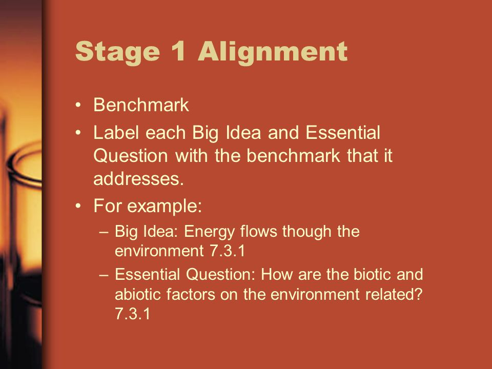 Stage 1 Alignment Benchmark