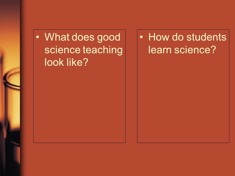 What does good science teaching look like