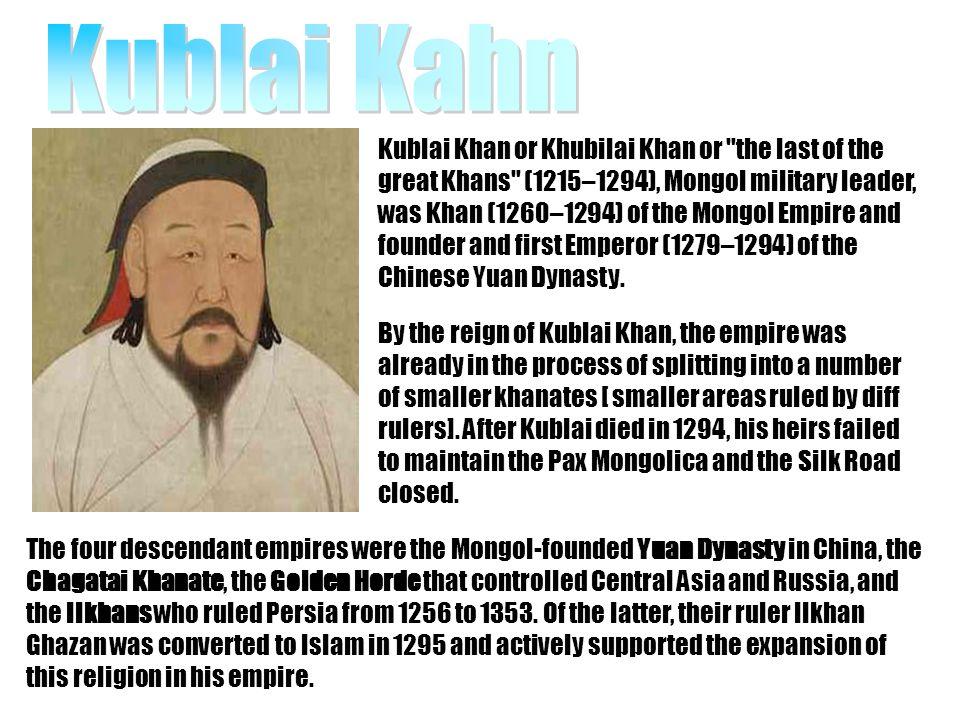 Kublai Kahn
