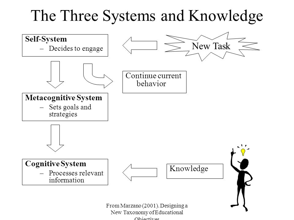 The Three Systems and Knowledge