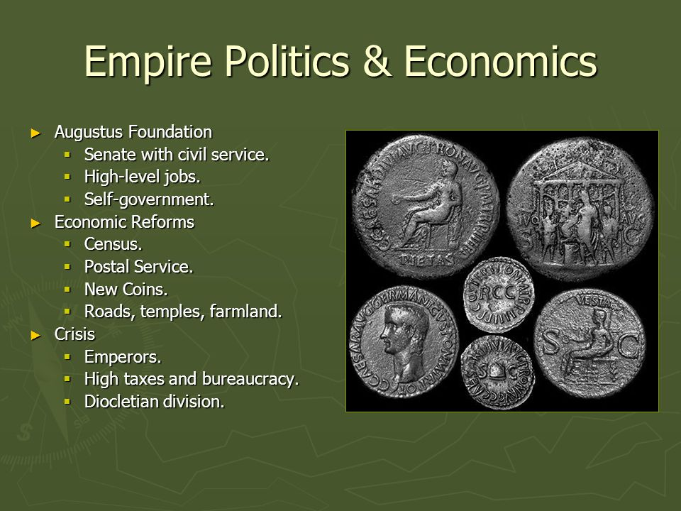 Empire Politics & Economics