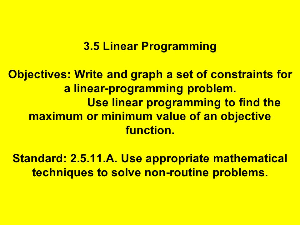 linear programming help The page provides math calculators in linear programming they are free and show steps use search to find the required solver.
