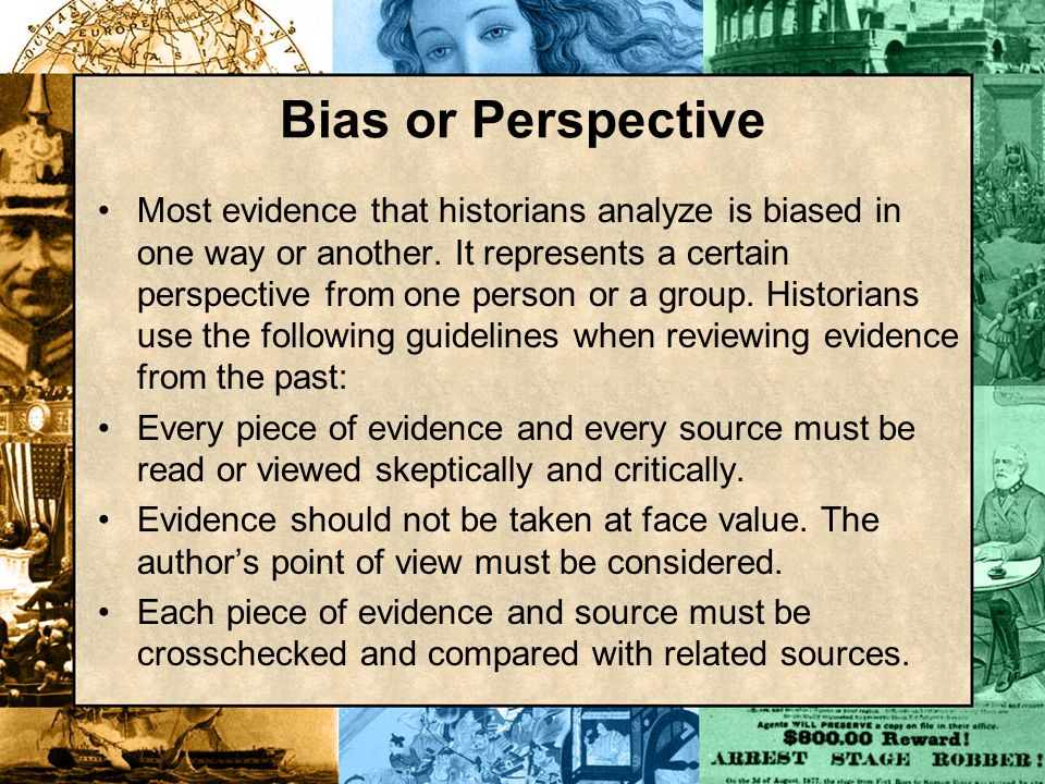 Bias or Perspective