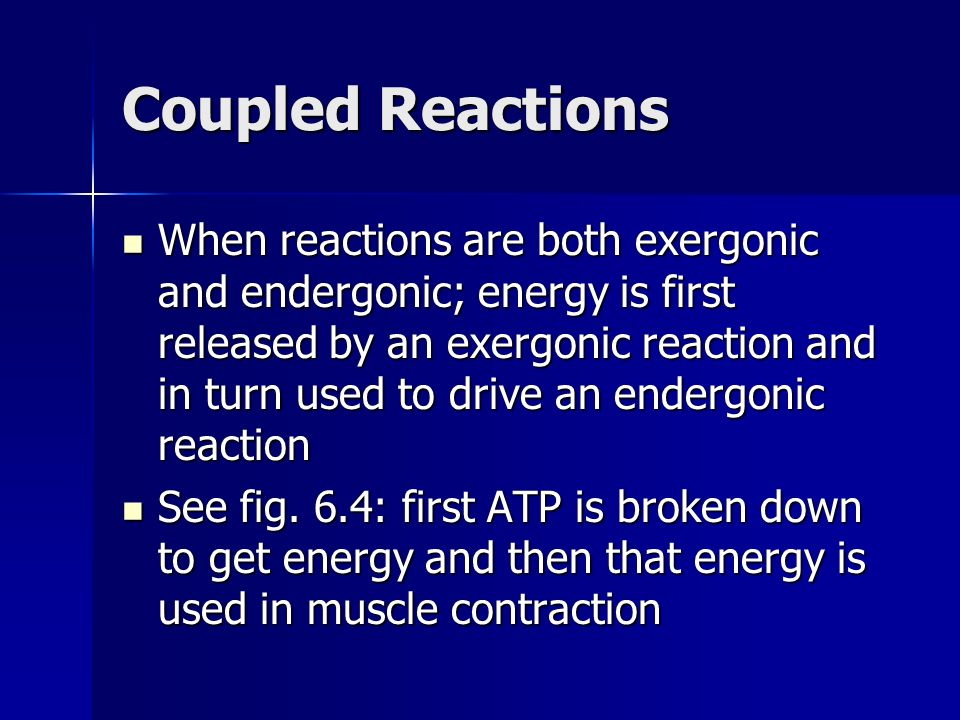 Coupled Reactions