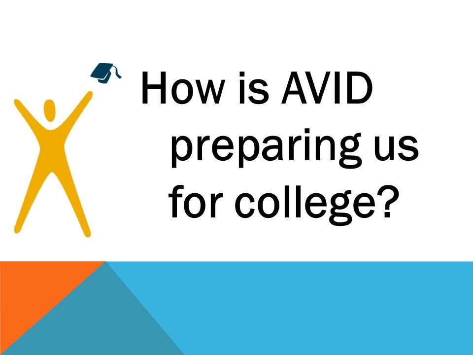 How is AVID preparing us for college