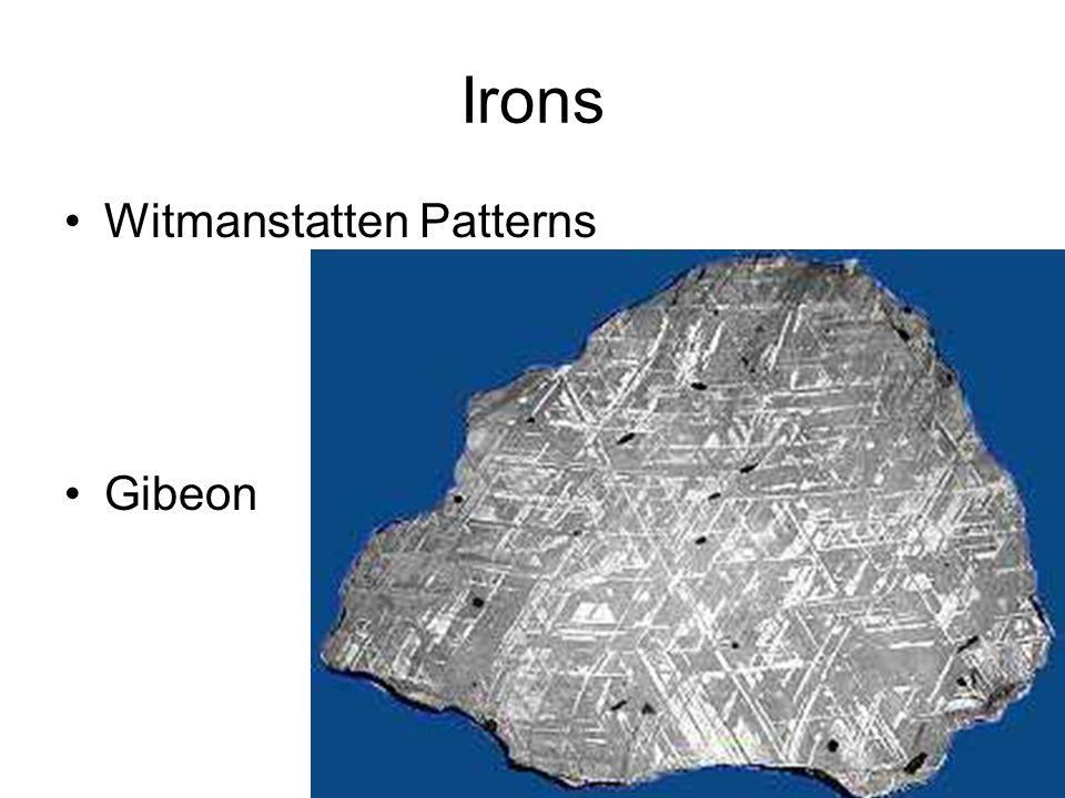 Irons Witmanstatten Patterns Gibeon