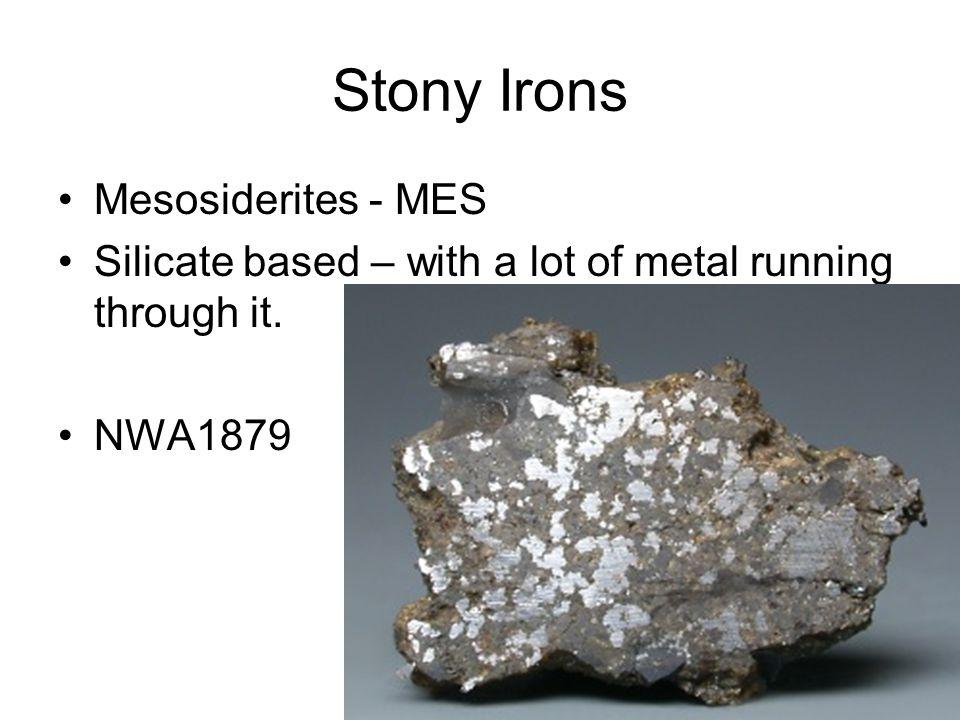 Stony Irons Mesosiderites - MES
